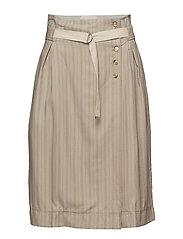 Skirt - PRINT OFF WHITE