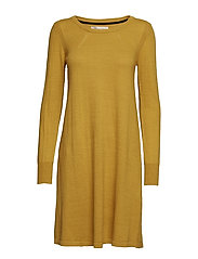 Dress long sleeve - MUSTARD GOLD