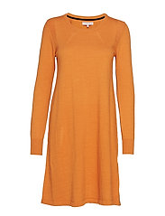 Dress long sleeve - TOMATO CREAM