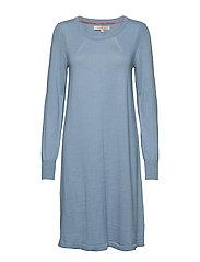 Dress long sleeve - FADED DENIM