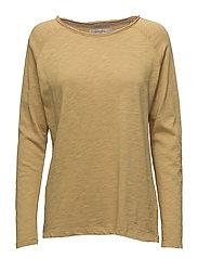T-shirt - MUSTARD GOLD