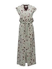 Dress sleeveless - PRINT GREEN