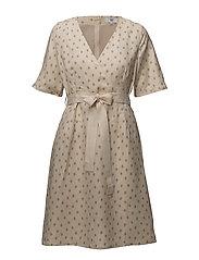 Dress short sleeve - PRINT OFF WHITE