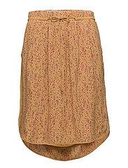 Skirt - PRINT YELLOW
