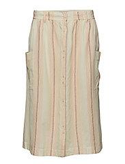 Skirt - ART WHITE