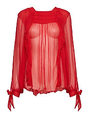 Blouse - POMPEIAN RED