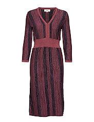 Dress long sleeve - ART RED