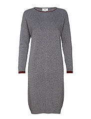 Dress long sleeve - DARK GREY MELANGE