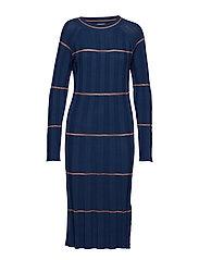 Dress long sleeve - ART BLUE
