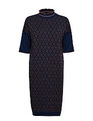 Dress short sleeve - ART BLUE