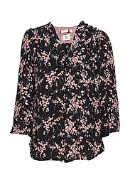Blouse - PRINT BLACK