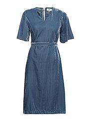 Dress short sleeve - BLUESTONE