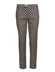 Trousers - PRINT YELLOW