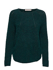 Pullover - GREEN MELANGE