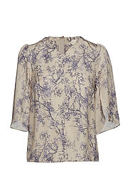 Blouse - PRINT OFF WHITE