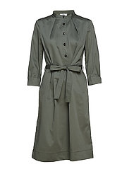 Dress long sleeve - AGAVE GREEN