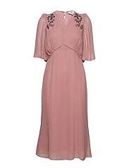 Dress short sleeve - NOSTALGIA ROSE