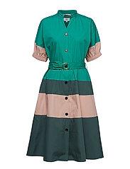 Dress short sleeve - VIRIDIS
