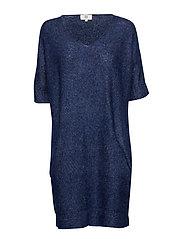 Dress short sleeve - BLUE DEPTHS