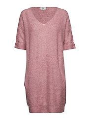 Dress short sleeve - FOXGLOVE