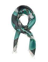 Scarves - PRINT TURQUOISE