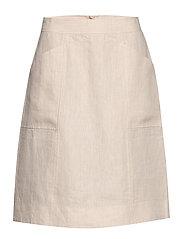 Skirt - NATURAL LINEN
