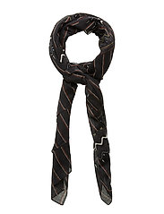 Scarves - PRINT BLACK