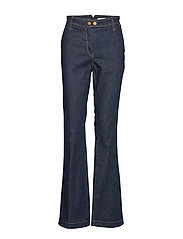 Trousers - DENIM DARK