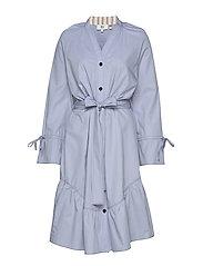 Dress long sleeve - ZEN BLUE