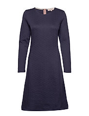 Dress long sleeve - PEACOAT