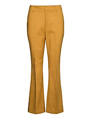 Trousers - BRIGHT GOLD