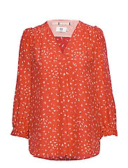 Blouse - PRINT RED