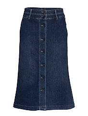 Skirt - DENIM DARK BLUE