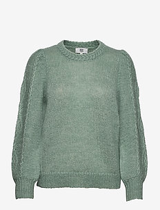 Pullover - trøjer - frosty green