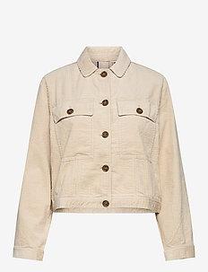 Jacket - kurtki dżinsowe - oatmeal