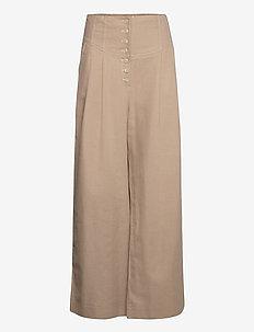 Trousers - uitlopende broeken - dune