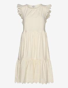 Dress sleeveless - midi dresses - white asparagus