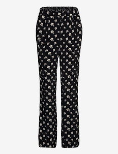 Trousers - broeken - print black