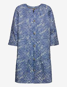 Light outerwear - print blue
