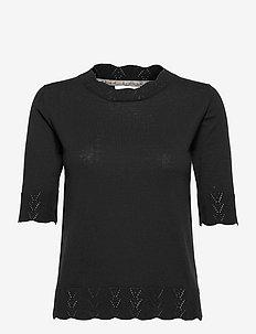 Pullover - strikkede toppe - black