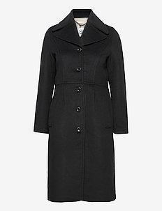 Heavy outerwear - ullkåper - black