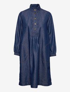 Dress long sleeve - hverdagskjoler - denim dark blue