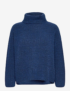 Pullover - truien - blue melange