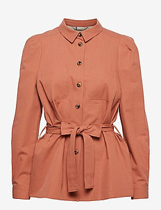Jacket - utilityjackor - copper brown