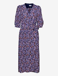 Dress short sleeve - robes d'été - print blue