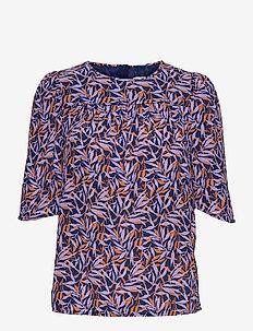 Blouse - blouses met korte mouwen - print blue