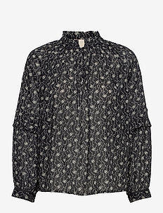 Blouse - blouses met lange mouwen - print black