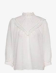 Blouse - blouses met lange mouwen - cloud dancer