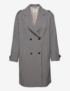 Light outerwear - trenchcoats - art blue
