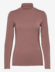 T-shirt - rolkraagtruien - brown rose